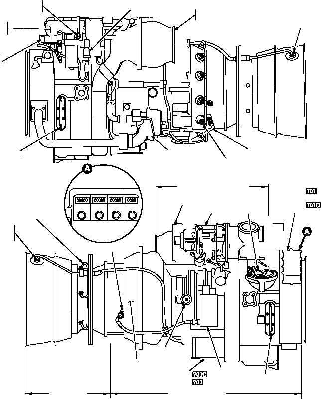 figure 2 16 t700 ge 701 t700 ge 701c engine sheet 1 of 2 rh apachehelicopter tpub com