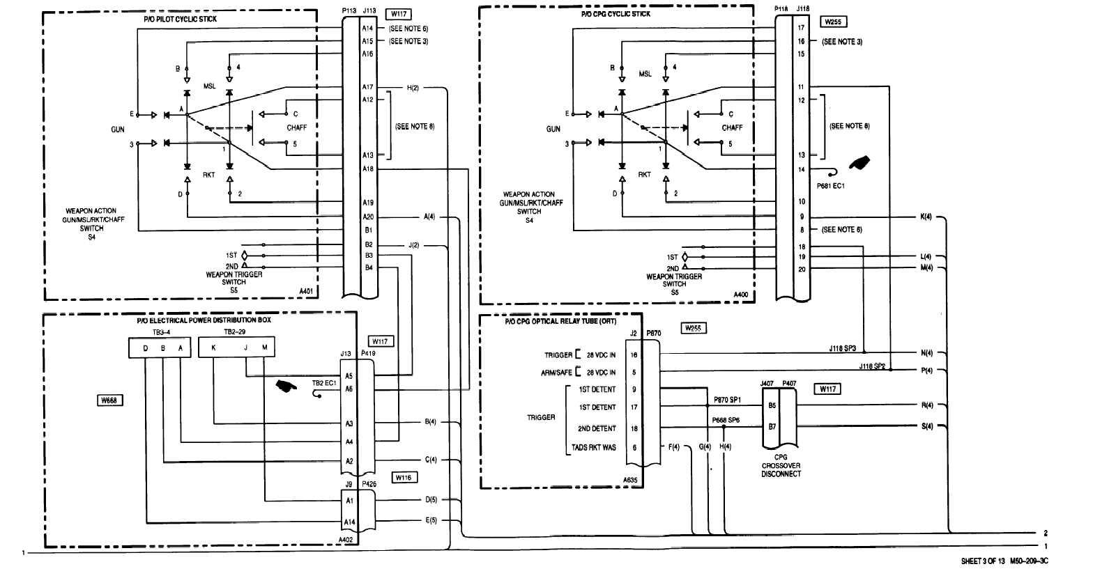 sheet 3 0f 13 m50