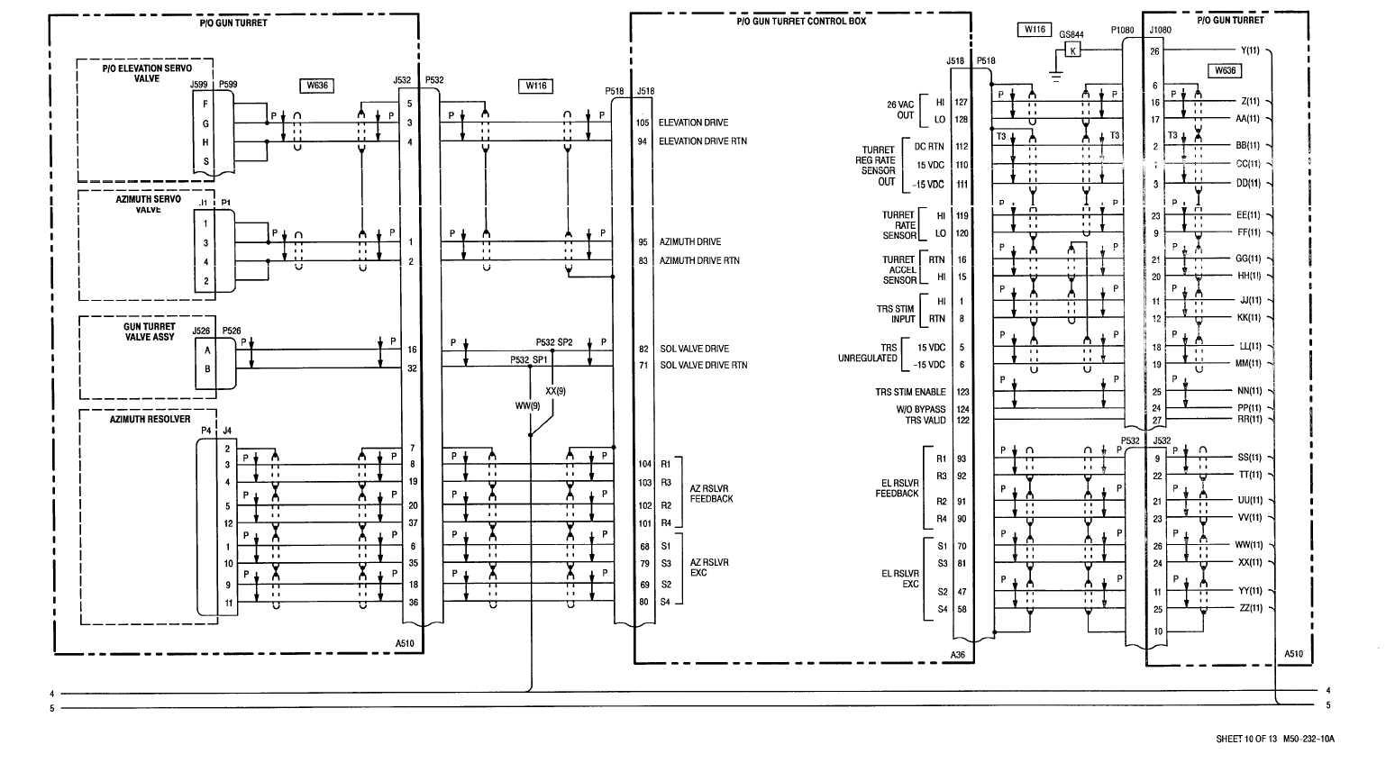 sheet 10 of 13 m50
