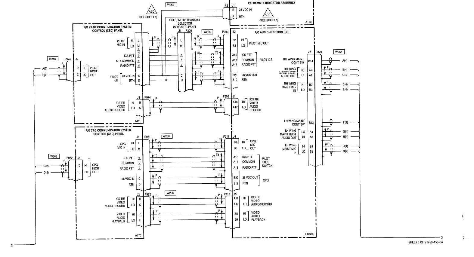sheet 3 of 5 m50 -158