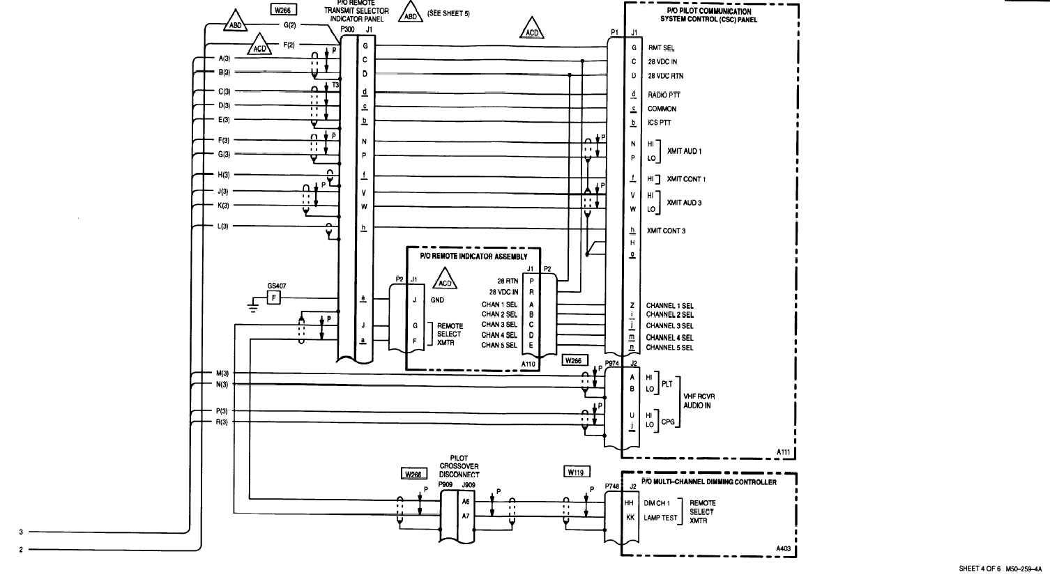 sheet 4 of 6 m50 -250