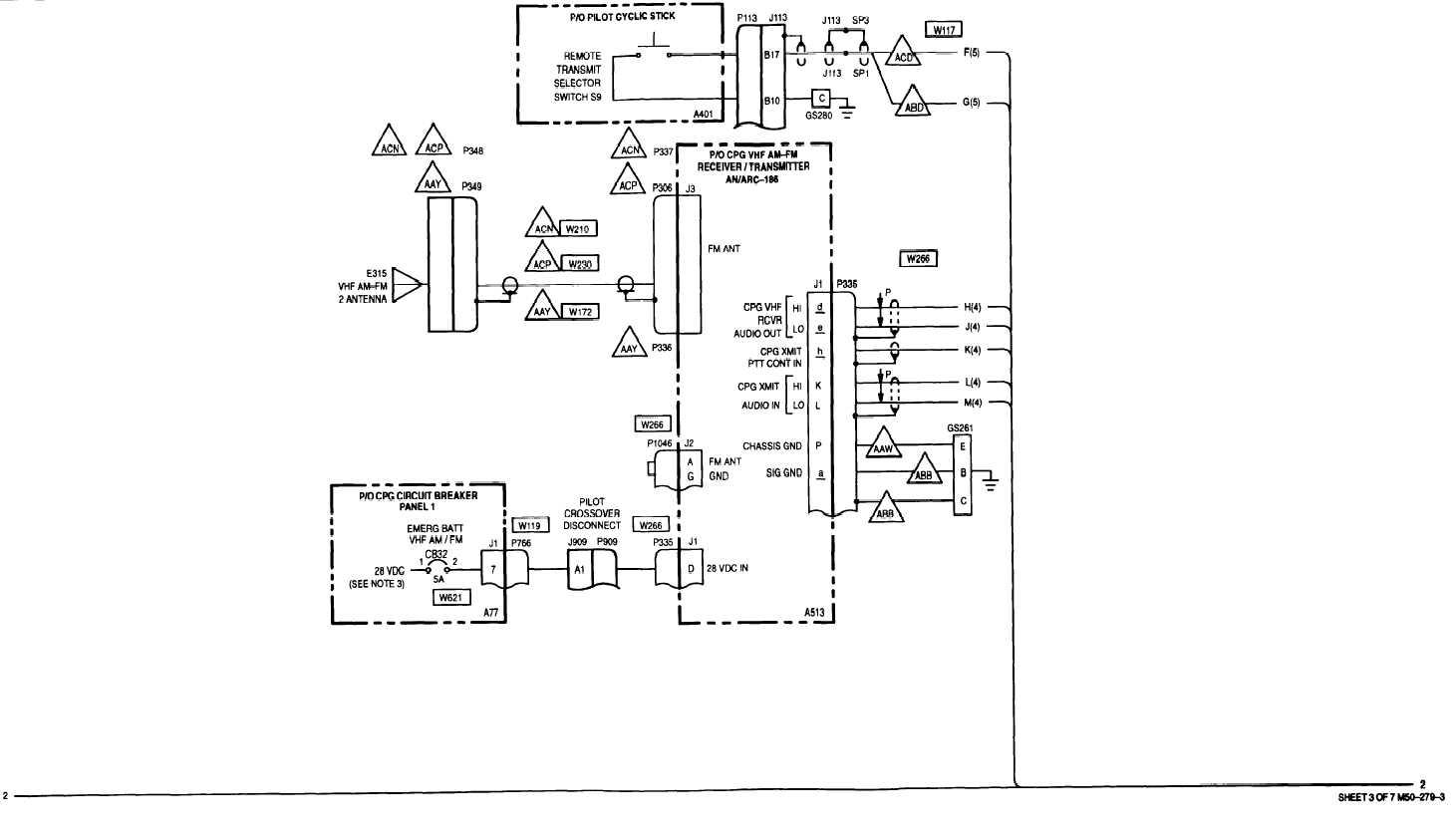 sheet 3 of 7 m50 -279