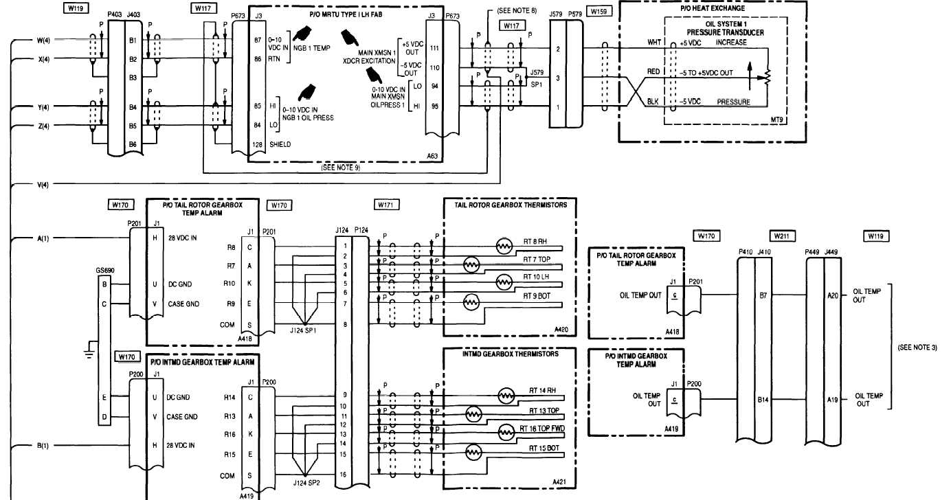 sheet 5 of 5 m50 224 5c Wiring-Diagram Accessories power plant wiring diagram