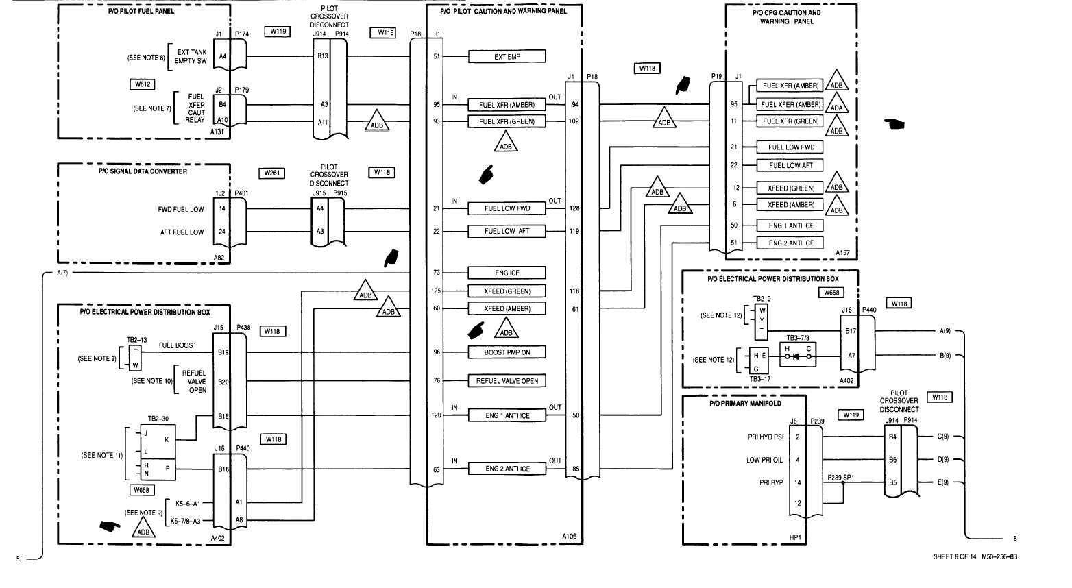 sheet 8 of 14 m50