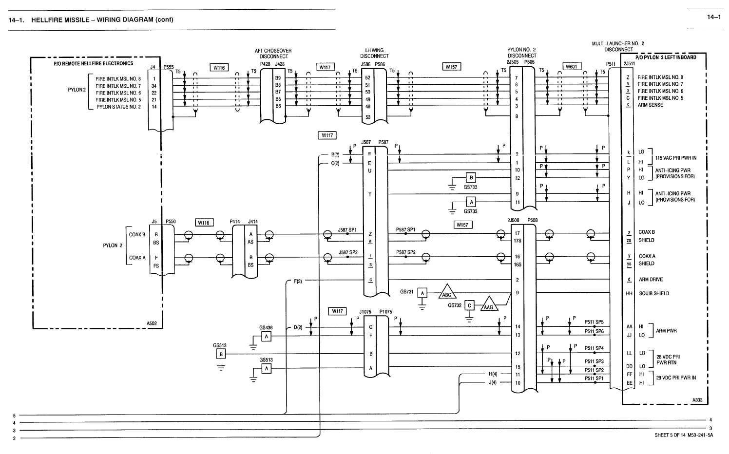 141 HELLFIRE MISSILE WIRING DIAGRAM CONT TM11520238T10448 – Iris Wiring Diagram