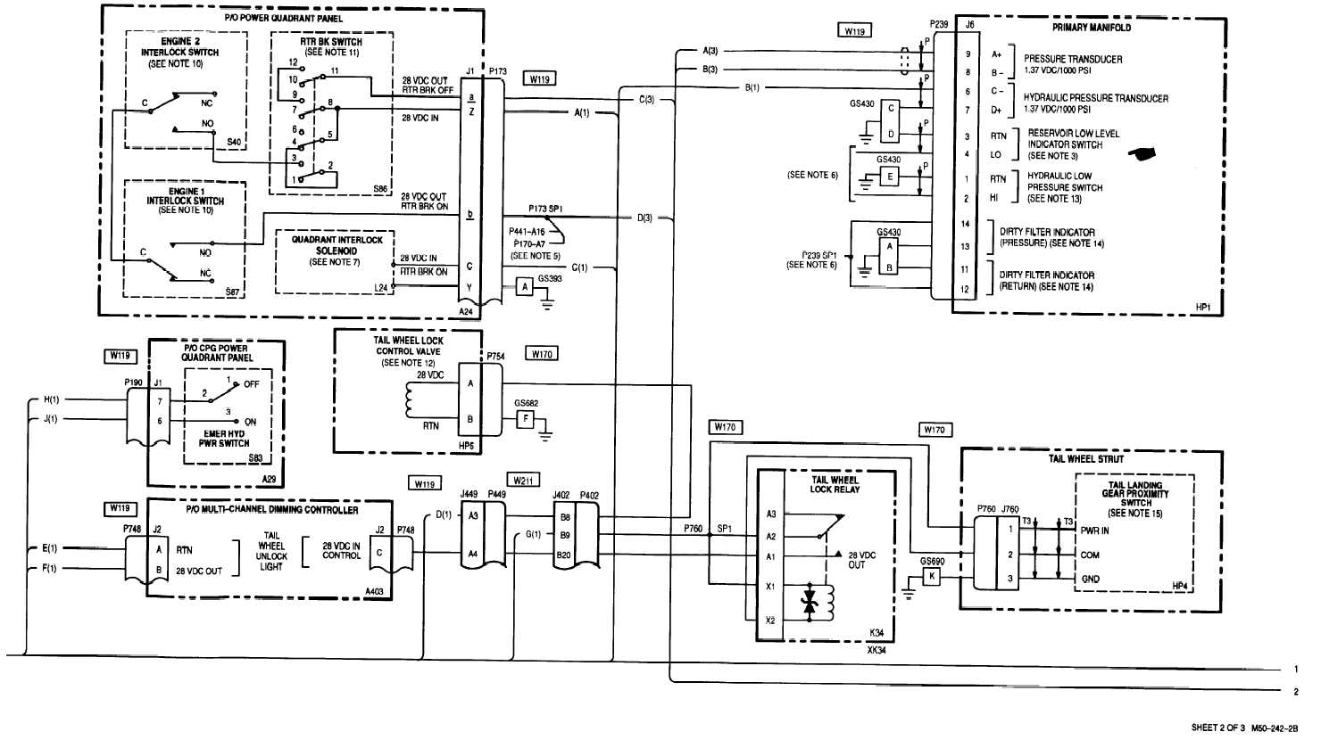 15-1  hydraulic -wiring diagram  cont