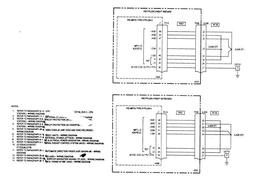 19 1 multiplex wiring diagram cont tm 1 1520 238 t 10 512 multiplex wiring diagram cont 19 1 sheet 17 of 17 m50 253 17c 19 18 change 5