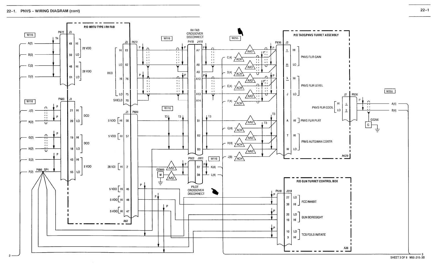 22 1 pnvs wiring diagram cont tm 1 1520 238 t 10 551. Black Bedroom Furniture Sets. Home Design Ideas