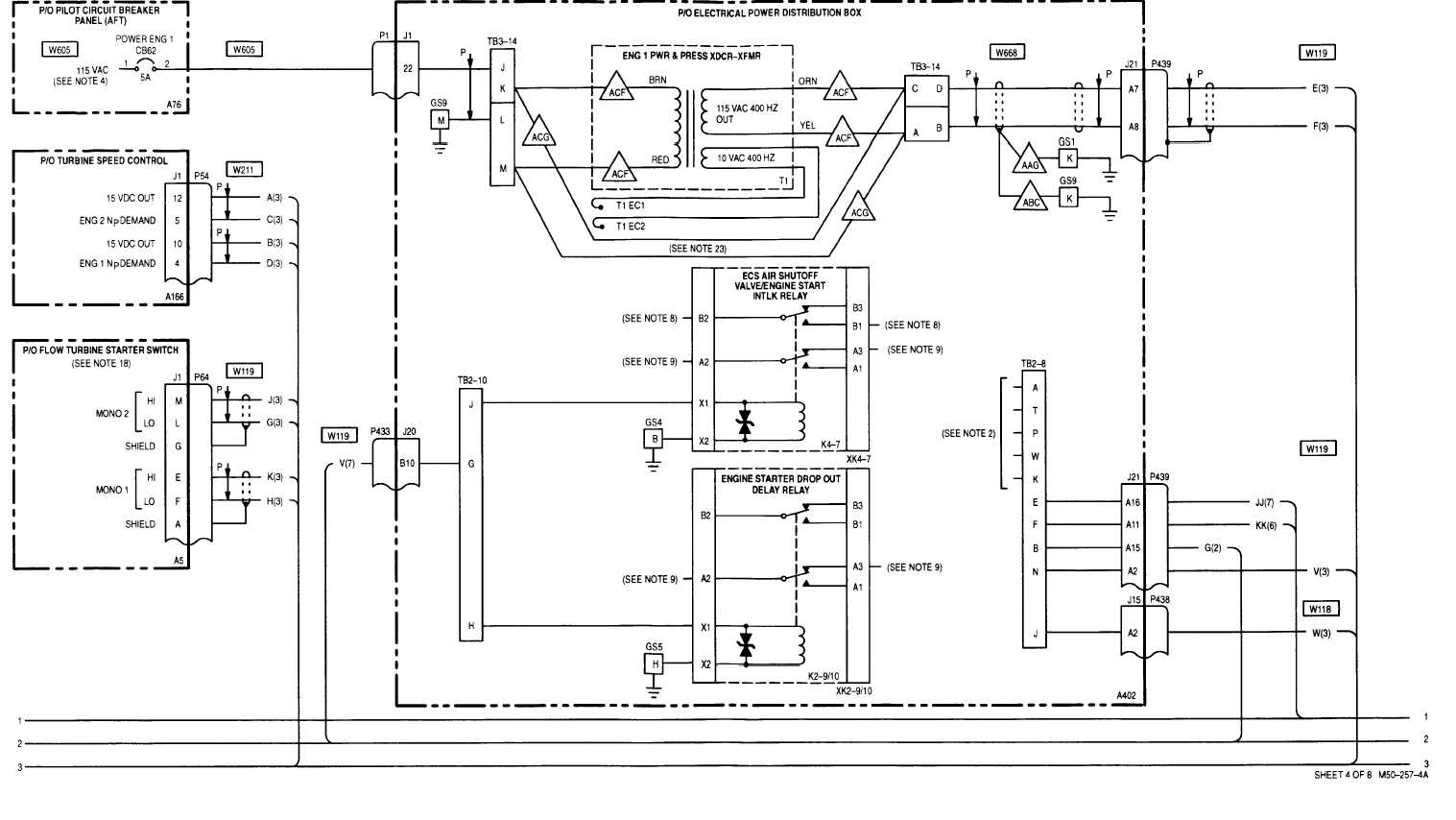 23 1 power plants wiring diagram (cont) tm 1 1520 238 t 10_562 DC Wiring Diagram Power Plant power plant wiring diagram