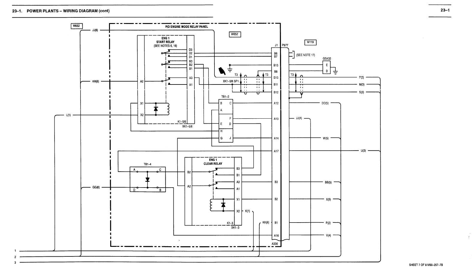 23-1  Power Plants -wiring Diagram  Cont