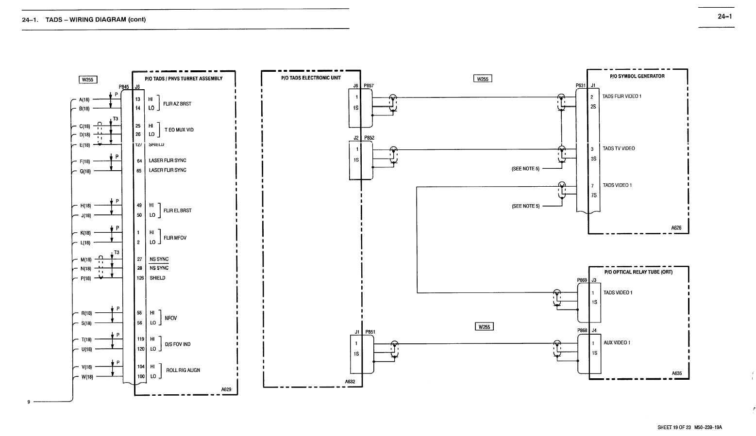 24 1 tads wiring diagram cont tm 1 1520 238 t 10 587. Black Bedroom Furniture Sets. Home Design Ideas