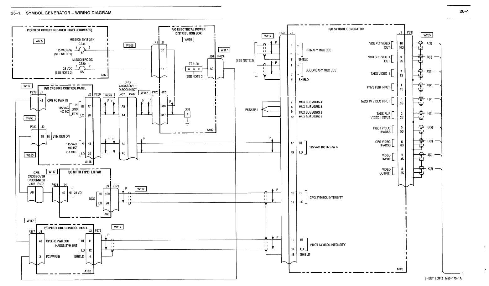 Aircraft Symbol Generator The Best And Latest 2018 Wiring Diagrams For Generators Electronic Flight Instrument System Efis