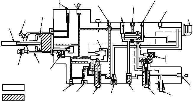 figure 77  primary hydraulic system functional diagram