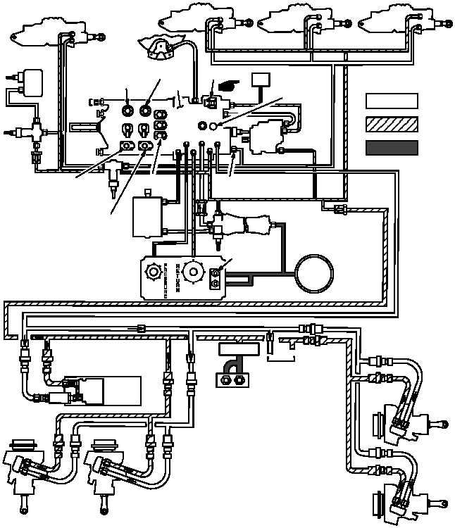 Figure 712  Utility Hydraulic System Functional Diagram