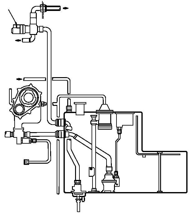 diagram of helicopter engine