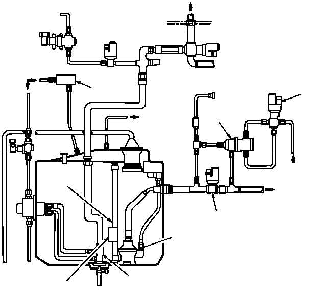 figure 1015  fuel quantity indication  transfer system diagram  sheet 1 of 2